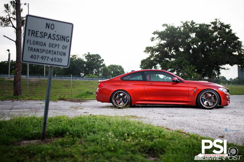 BMW M4 Sakhir Inferno от Precision Sport Industries (PSI)