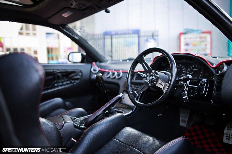 Nissan 180SX в уникальном уличном тюнинге
