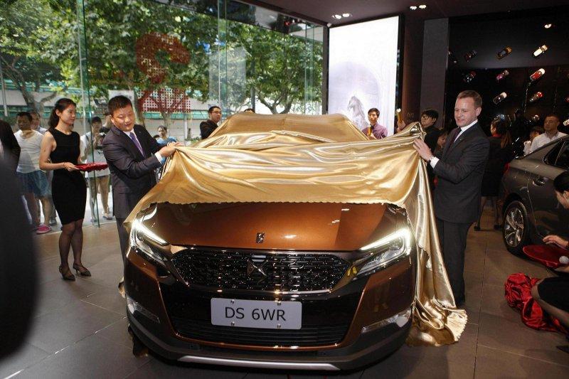 Премиальный внедорожник Citroën DS 6WR готов к началу продаж