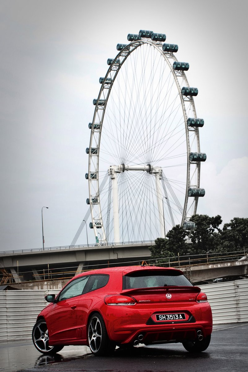 Volkswagen Scirocco от ABT Sportsline