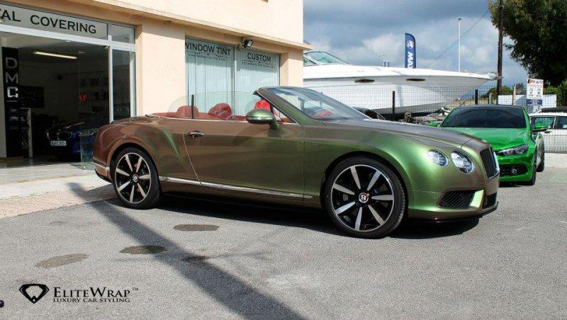 Bentley Continental GTC V8S от Elite Wrap
