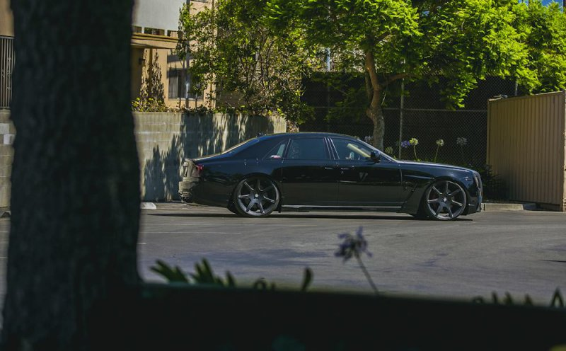 Rolls-Royce Ghost в обвесе Wald International от RDB