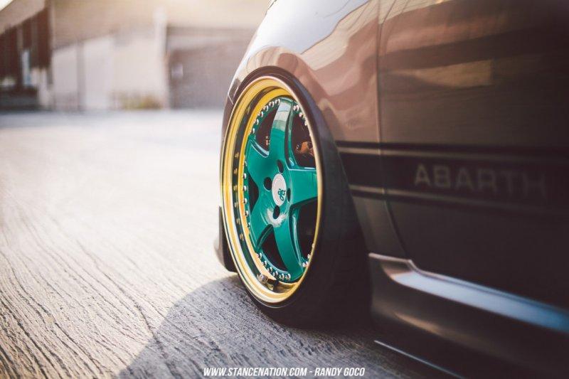 Бесподобный FIAT 500 Abarth из США