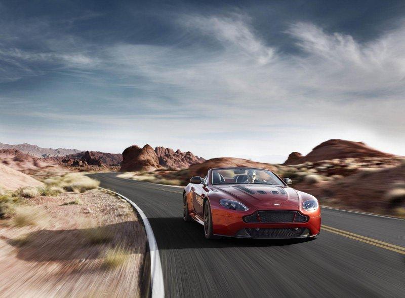 Aston Martin показал самый быстрый родстер V12 Vantage S Roadster