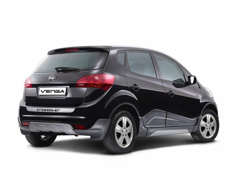 Kia выпустила псевдо-вседорожник Venga Crossover