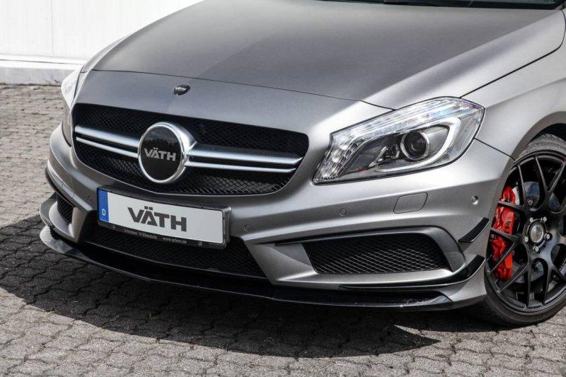 VATH добавил мощности Mercedes A45 AMG