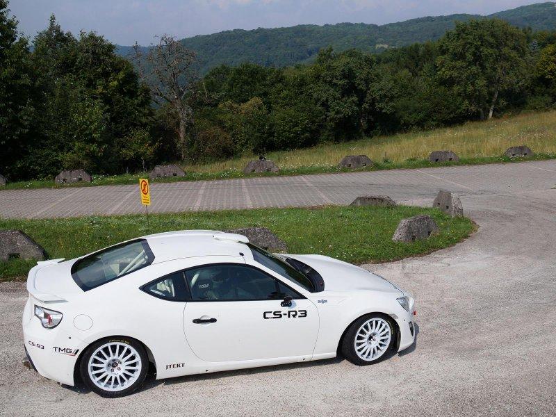 Toyota представила раллийный болид GT86 CS-R3