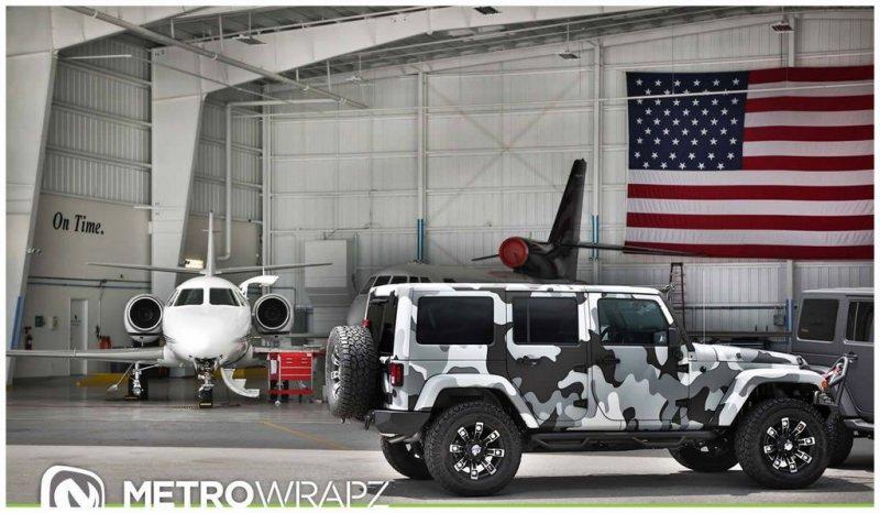 Трио уникальных внедорожников Jeep Wrangler от Metro Wrapz