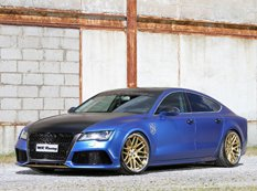MR Racing представил Audi A7 Sportback TDI The Blue Wonder