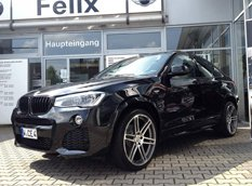 Manhart Racing поднял мощность BMW X4 xDrive35d до 375 л. с.