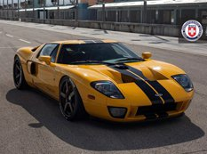 ��������������� Ford GT Heffner �� ������ HRE Wheels