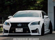 Lexus LS460 GT-VIP от японского ателье Aimgain