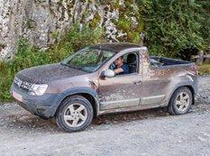 В интернете появились фото прототипа пикапа Dacia Duster
