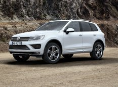 VW назвал цену внедорожника Touareg и представил пакет R-Line