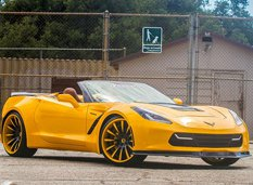 Chevrolet Corvette Stingray Convertible от Forgiato