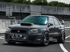 Идеально настроенный Subaru Impreza WRX из Индонезии