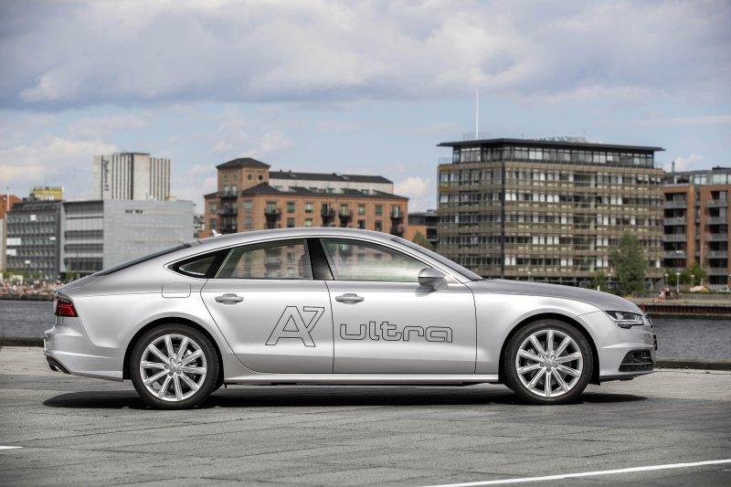 Тест-драйв Audi A7 Sportback 3.0 TDI Ultra (2015)