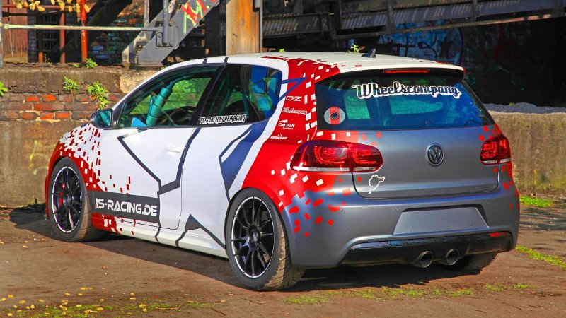 Volkswagen Golf R Haiopai Racing в «обертке» Cam Shaft