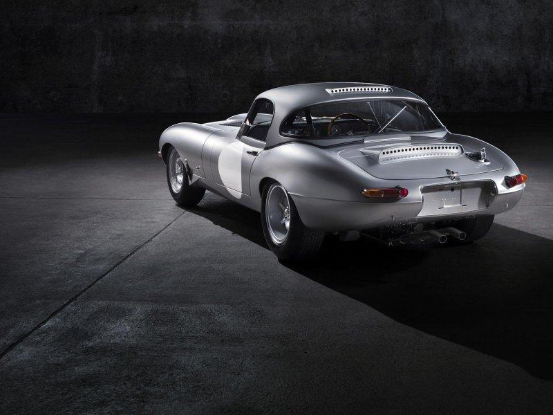 Jaguar выпустит шесть спорткаров Lightweight E-Type 1963 года