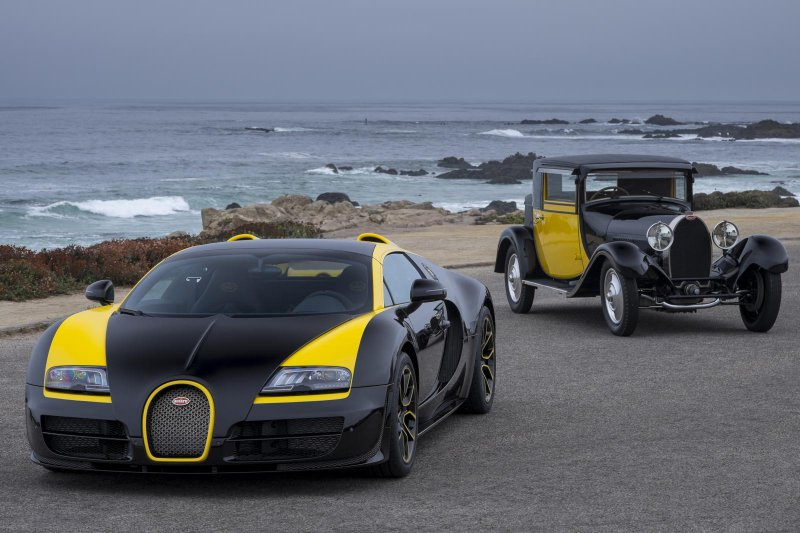 В Пэббл-Бич представили Bugatti Grand Sport Vitesse «1 of 1»