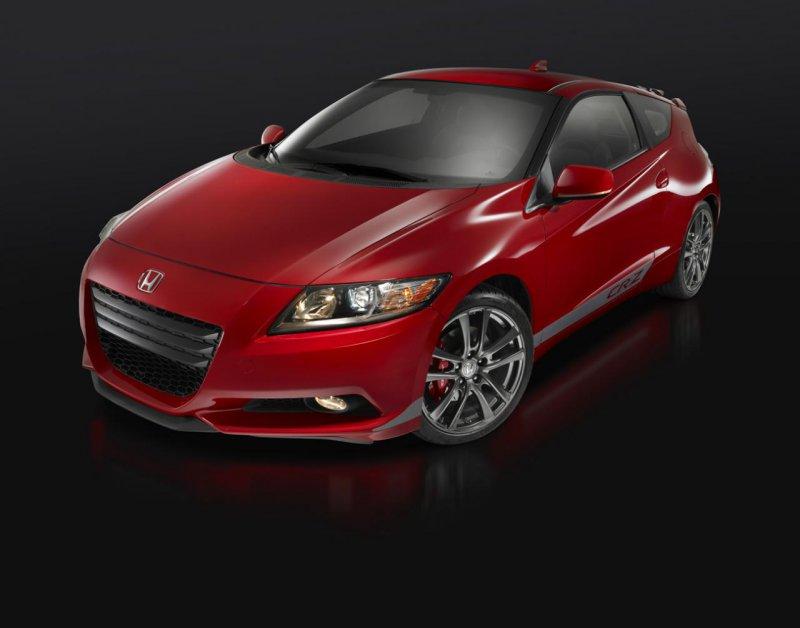 Honda предложила оборудовать хэтчбек CR-Z компрессором