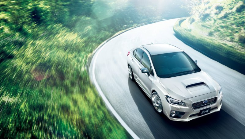 Subaru представил еще один спортивный седан WRX S4