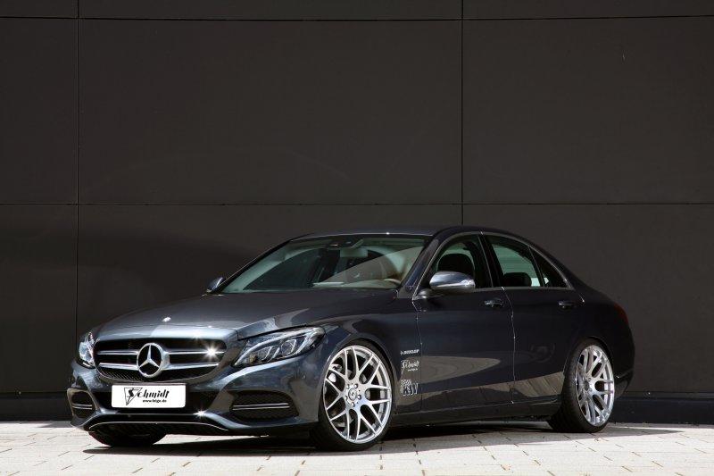 Mercedes-Benz C-Class W205 в настройке Schmidt Revolution