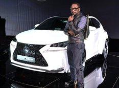 Lexus представил кроссовер NX by will.i.am от Уильяма Адамса