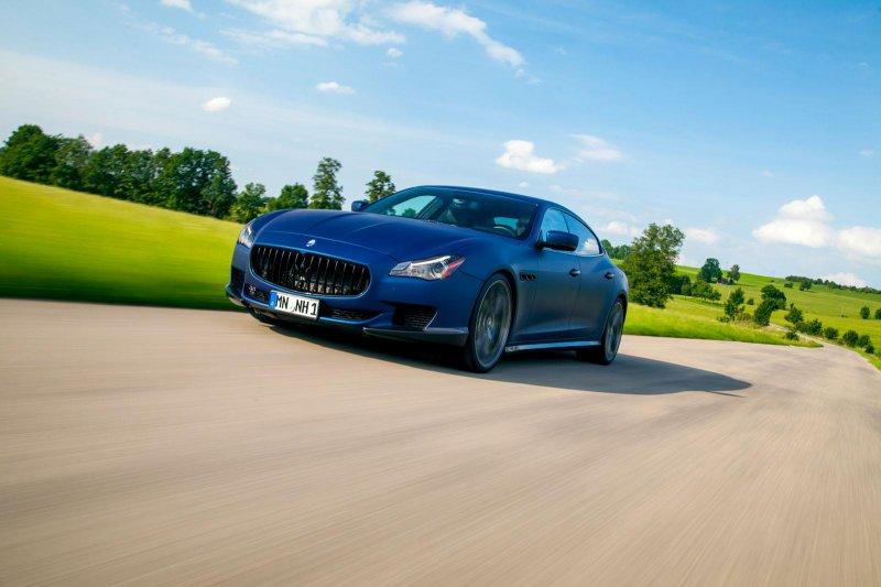 Novitec Tridente доработал новый Maserati Quattroporte