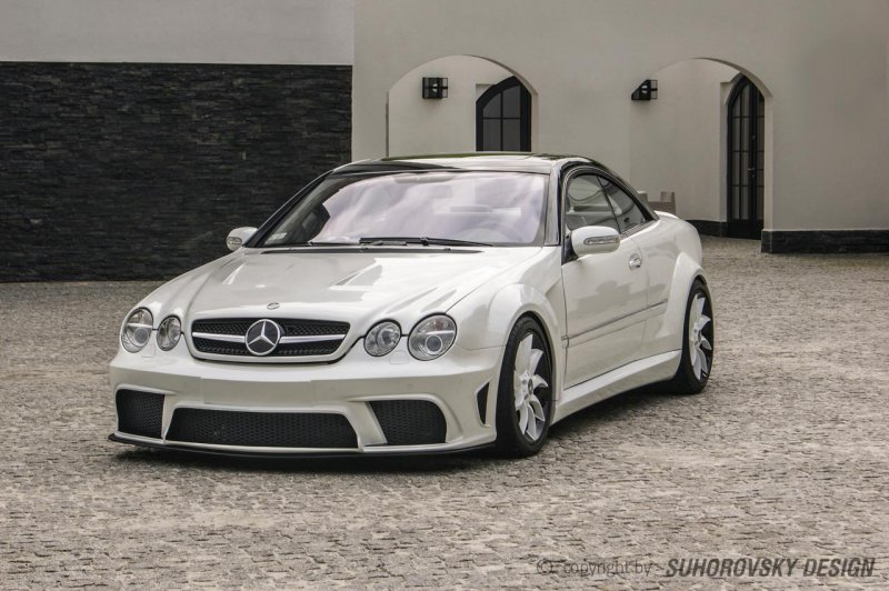 Mercedes-Benz CL W215 в обвесе Suhorovski Design