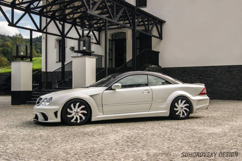 Mercedes-Benz CL W215 � ������ Suhorovski Design