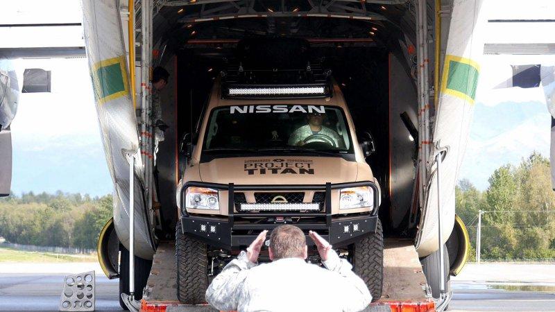 Nissan представил единичный внедорожник Project Titan