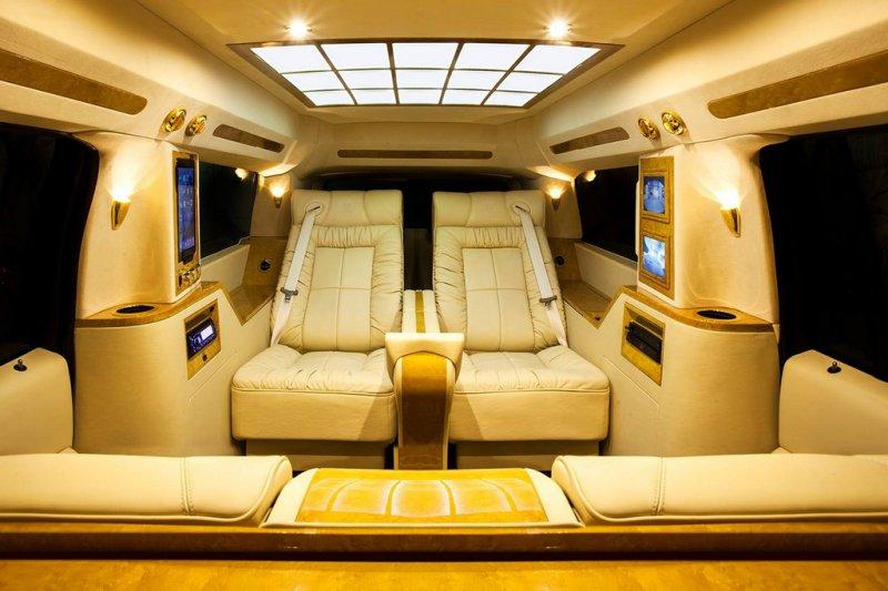 Lexani Motorcars построил лимузин Cadillac Escalade Concept One
