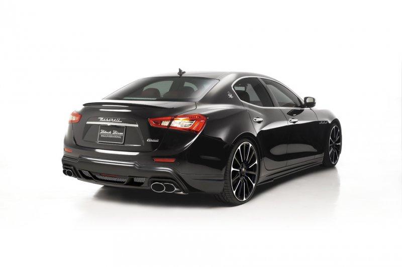 Wald International показал фото Maserati Ghibli Black Bison