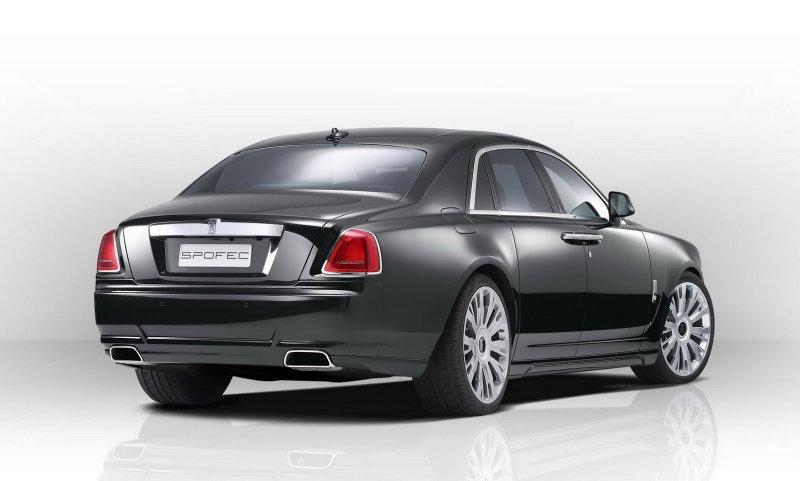 Novitec представил тюнинг-пакет SPOFEC для Rolls-Royce Ghost