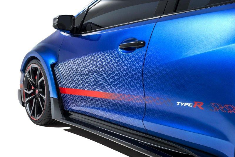 Honda рассекретила прототип Civic Type R Concept II