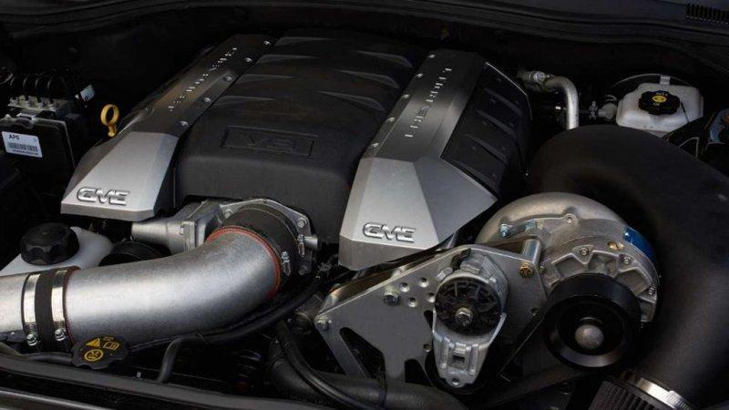 GME Exclusive добавил мощности Chevrolet Camaro SS
