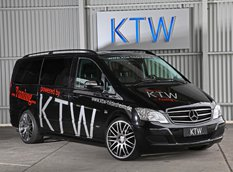 KTW Tuning доработал Mercedes Viano 3.0 CDI BlueEFFICIENCY