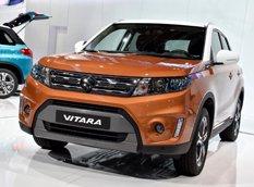 Париж 2014: Suzuki представили субкомпактный внедорожник Vitara