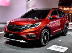 Париж 2014: Honda показала прототип обновленного кроссовера CR-V