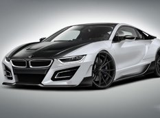 German Special Customs готовит стайлинг-пакет iTRON для BMW i8