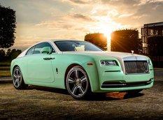 Rolls-Royce представил единичное купе Wraith