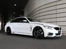 BMW 4-Series Gran Coupe в обвесе 3D Design