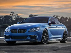 Эксклюзивный BMW 6-Series Gran Coupe на дисках VMR Wheels