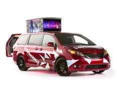 Toyota представит музыкальный минивэн Sienna Remix