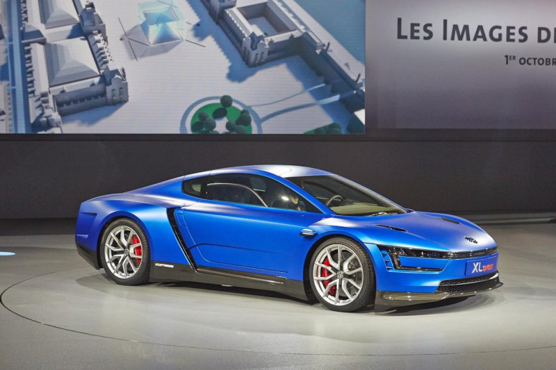Париж 2014: Volkswagen показал 2-цилиндровый спорткар XL Sport