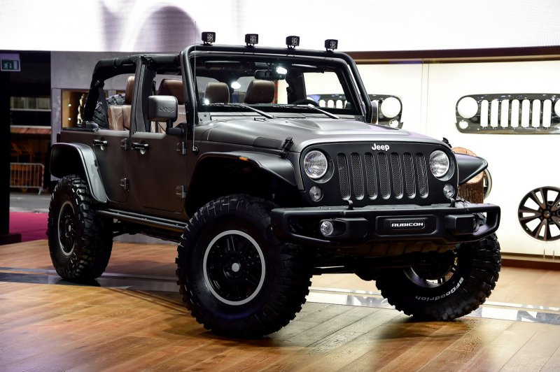 Париж 2014: Jeep Unlimited Rubicon Stealth – эксклюзивный концепт