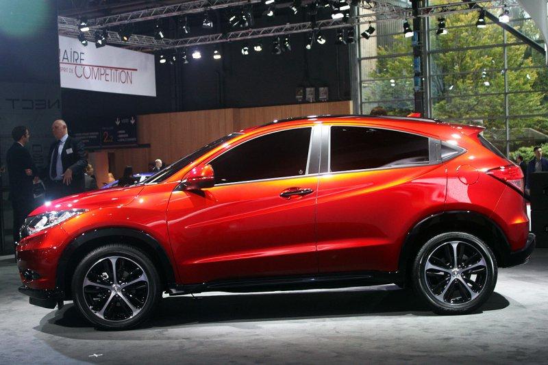 Париж 2014: Honda представила прототип нового кроссовера HR-V