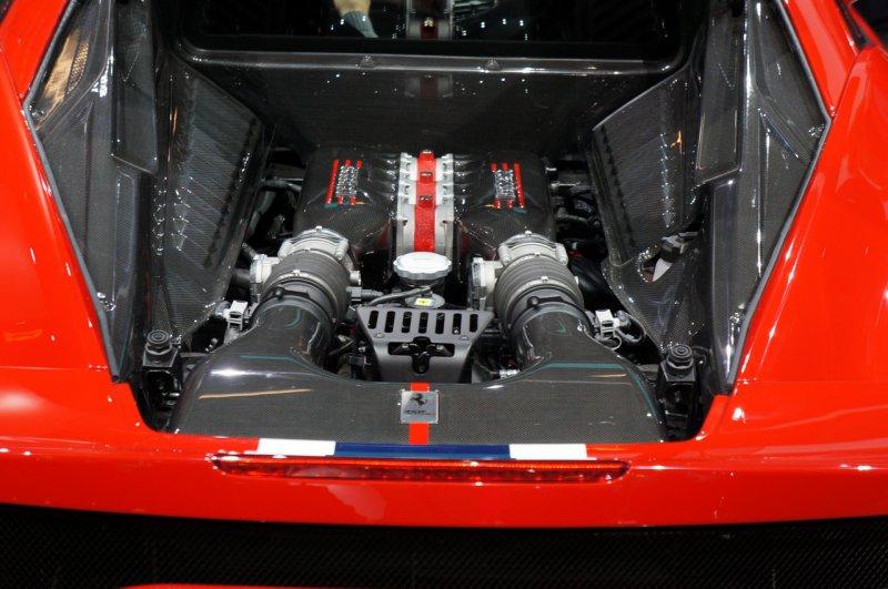 Mansory подготовил обвес для Ferrari 458 Speciale