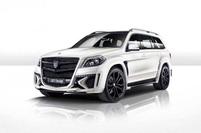 Larte Design представил белый Mercedes-Benz GL Black Crystal